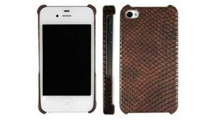 Leather Cover for iPhone 4S / iPhone 4