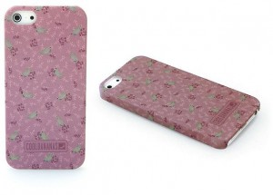 iPhone 5 Cover - Vintage Rose Cool Bananas