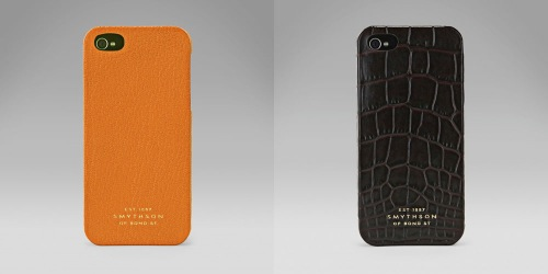 Smythson Covers for iPhone 5