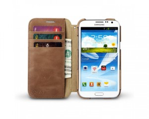 Galaxy note 2 leather case by zenus