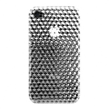 Clear Hex 3D for iPhone 4S