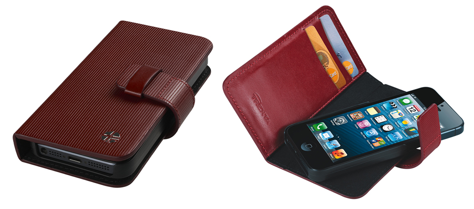 Trexta iPhone 5 case in Wallet style
