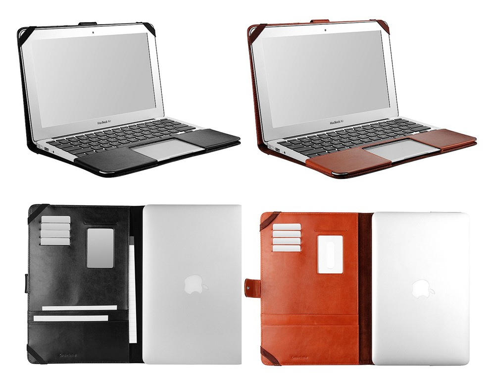 Interior of Sena Folio Case for MacBook Air 13'