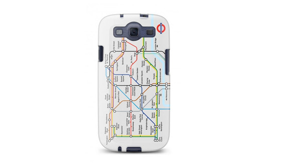 Tube Map Case for Galaxy S3 by Cygnett
