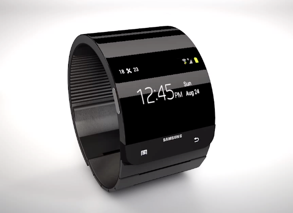 Concept of Samsung Galaxy Gear Smartwatch