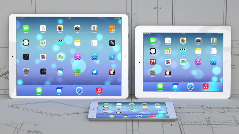 The next iPad will have a 12-inch screen