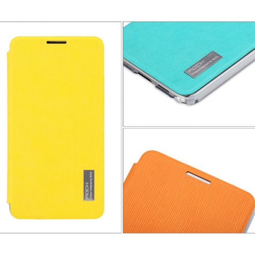 Rock Elegant Series of Leather Cases for Galaxy Note 3