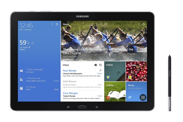 Galaxy Note Pro tablet