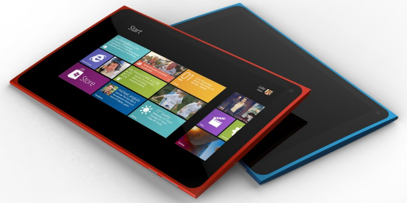 Nokia's first tablet, the Lumia 2520.