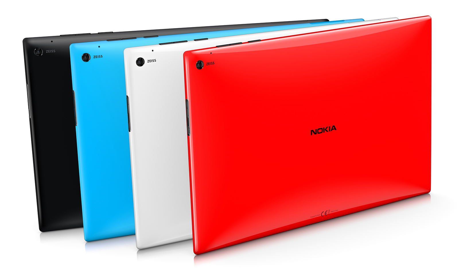 You can purchase the Lumia 2520 in red, white, black and cyan.