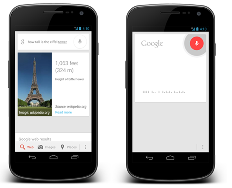 Android's assistant Google Now