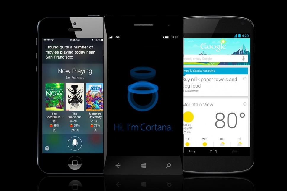 Virtual assistants: Siri vs Cortana vs Google Now