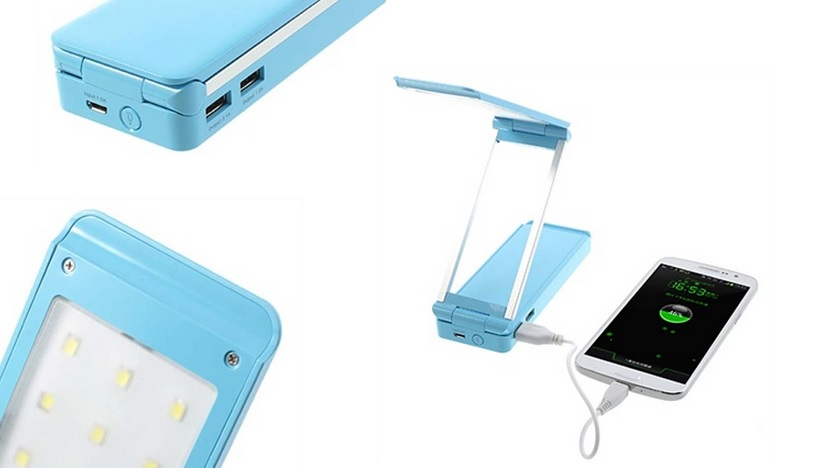 Power Bank and a desk lamp in one