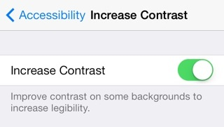 iOS tips: turn off the blur effect