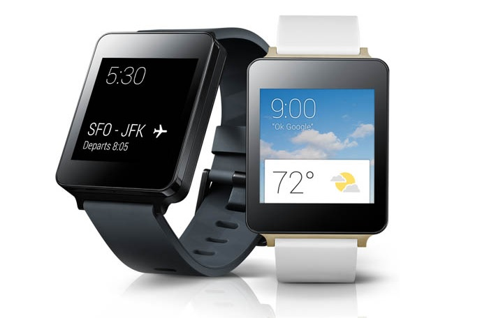 The LG G smartwatch