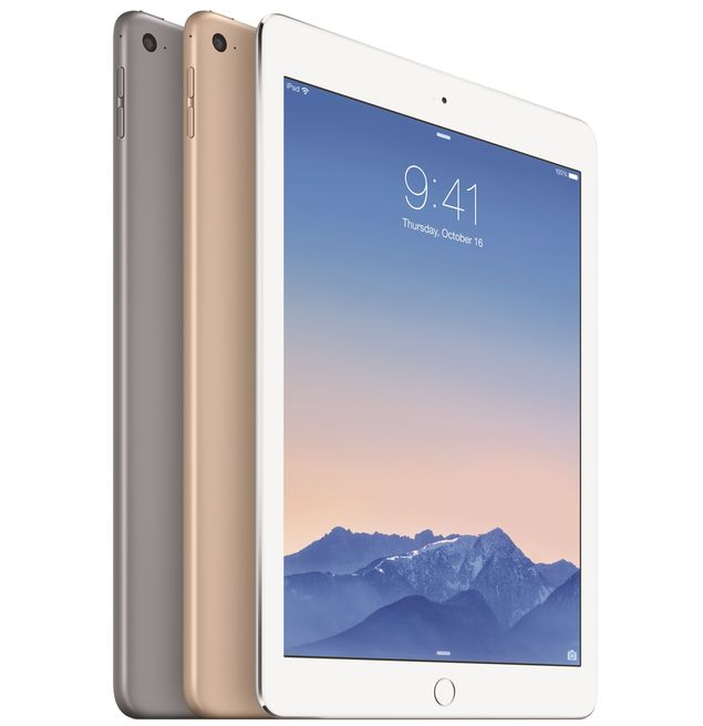 Apple Reveals the iPad Air 2