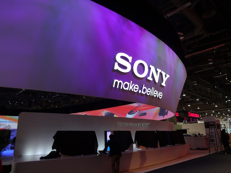 Sony's booth at CES