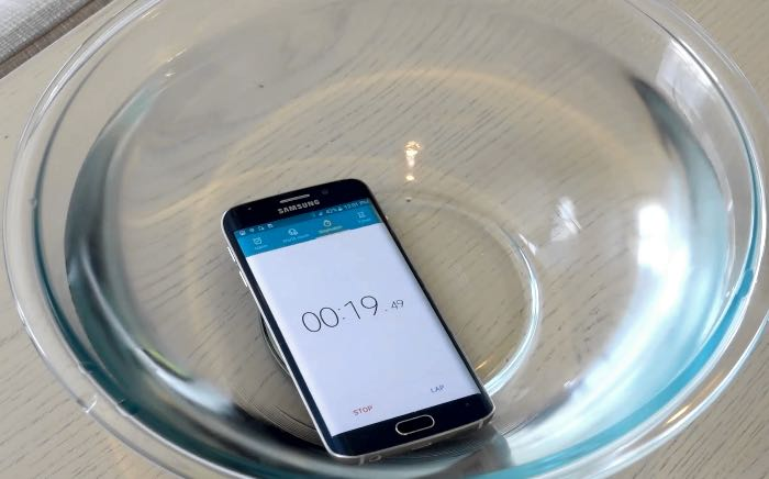 Samsung Galaxy S6 Edge Test