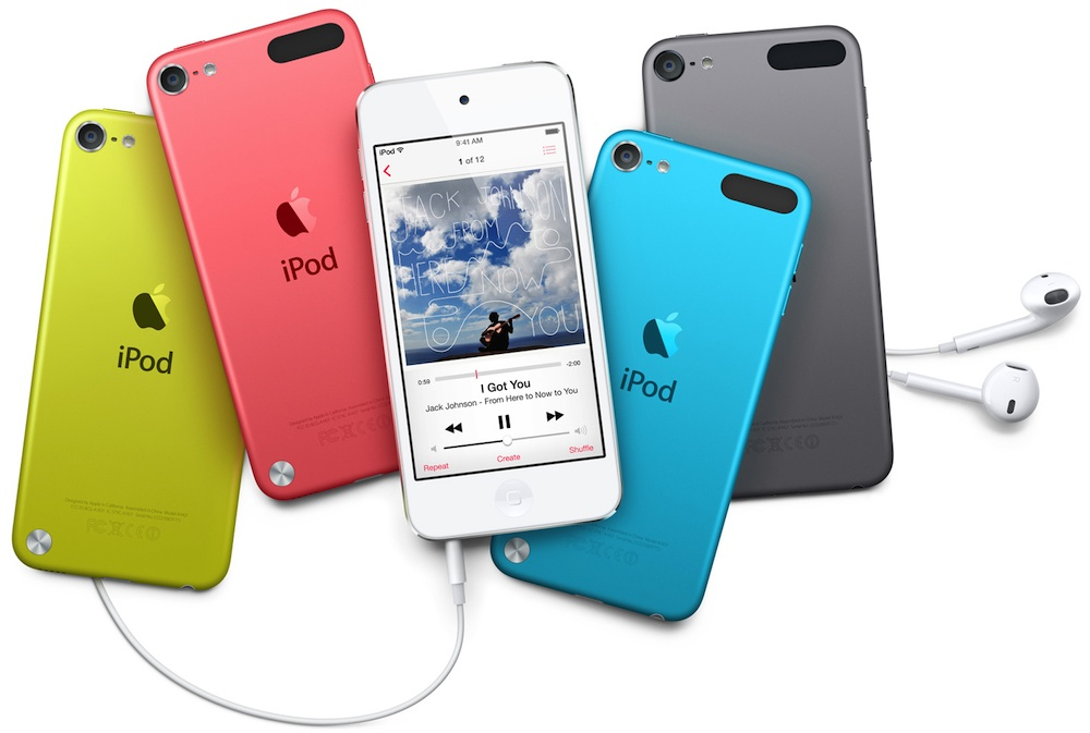 iPod Touch 5 different colors
