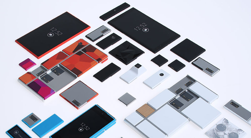 Project Ara: Parts of a modular smartphone